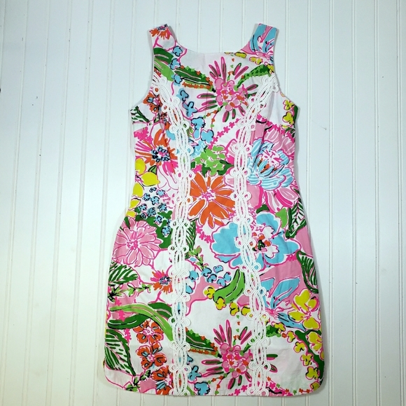 NWOT Lilly Pulitzer for Target Floral Shift Dress